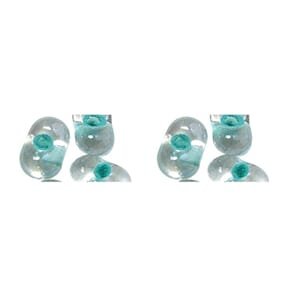 Rocailles 2x4mm - Mint green - Papillon