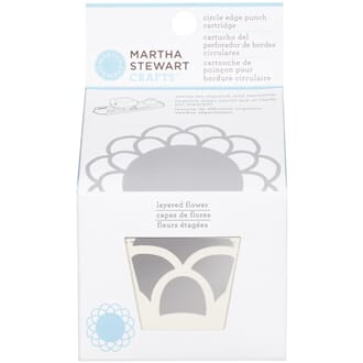 Martha Stewart: Layered Flower - Circle Border Cartridge