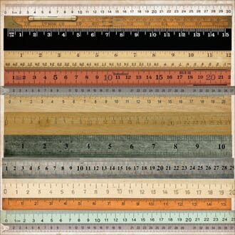 Kaisercraft: Rulers - Mister Fox Perforated Cardstock