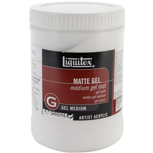 Liquitex: Matte - Gel Acrylic Medium