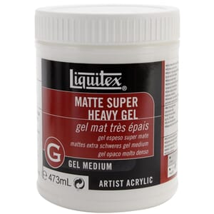 Liquitex: Super Heavy Matte Acrylic Gel Medium