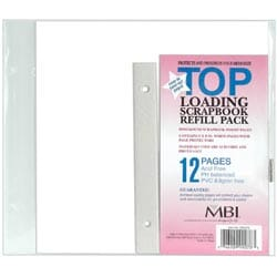 MBI: Page Protectors 8x8inch 6/Pk