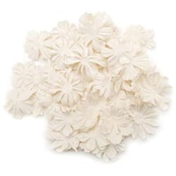 Prima: Wildflower Pillar 1.2 Ounces - White