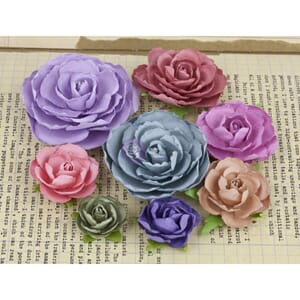 Prima: Mix - Charlotte Mulberry Paper Flowers