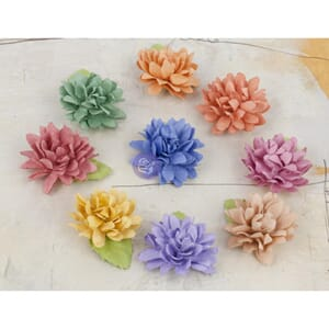 Prima: Mix - Lil Missy Mulberry Paper Flowers