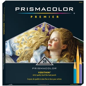 PRISMACOLOR: Verithin - 24 stk Premier Colored Pencils