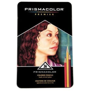 PRISMACOLOR: Verithin - 36 stk Premier Colored Pencils