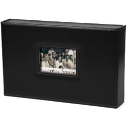 Xyron: Everyday Stories Leather Album 8x12inch - Black