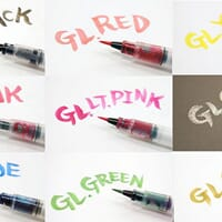 Wink of Stella Brush Tip Glitter Markers