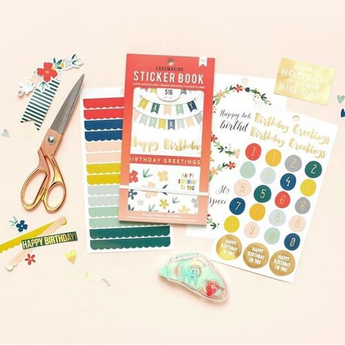 American Craft Planner stickers