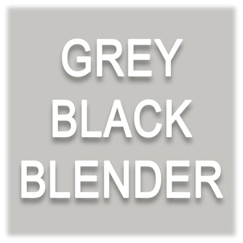 GREY/BLACK/BLENDER