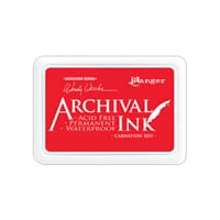 Ranger: Archival Inkpad - Carnation Red