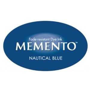 Tsukineko: Nautical Blue - Memento Dye Inkpad Full Size
