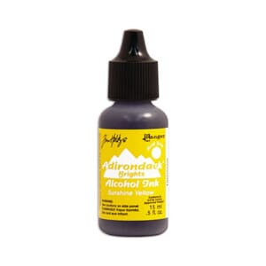 Adirondack Alcohol Ink - Sunshine Yellow, 15ml