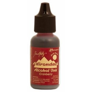 Adirondack Alcohol Ink - Cranberry, 15ml