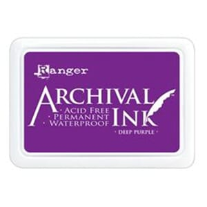 Ranger: Archival Inkpad - Deep Purple
