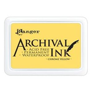 Ranger: Archival Inkpad - Chrome Yellow