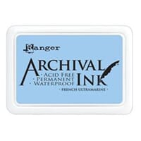 Ranger: Archival Inkpad - French Ultramarine