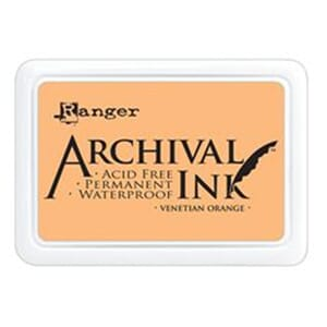 Ranger: Archival Inkpad - Venetian Orange