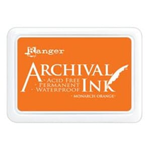 Ranger: Archival Inkpad - Monarch Orange