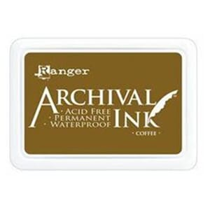 Ranger: Archival Inkpad - Coffee