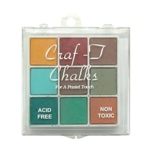 Craf-T: Decorating Chalk 9 Color Set - Earthly Wonders