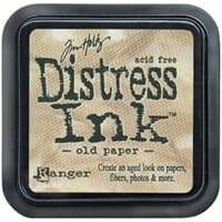Tim Holtz: Old Paper - Distress Ink Pad