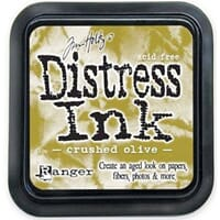 Tim Holtz: Crushed Olive - Distress Ink Pad
