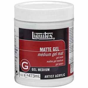 Liquitex: Matte - Acrylic Gel Medium