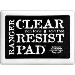 Ranger: Clear Resist Stamp Pad