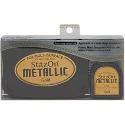 Stazon Metallic Ink Kit - Gold