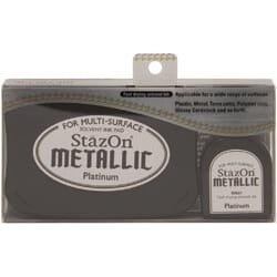 Stazon Metallic Ink Kit - Platinum
