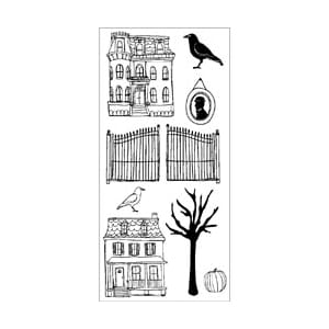 Claudine Hellmuth: Halloween - Clear Stamps