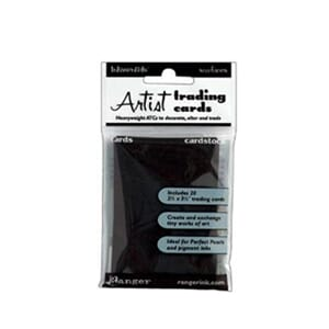 Inkssentials: Craft Tags ATC - Black Surfaces 20/Pk