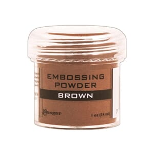 Ranger: Brown - Embossing powder 1oz