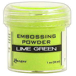 Ranger: Lime Green - Embossing powder 1oz