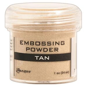 Ranger: Tan - Embossing powder 1oz