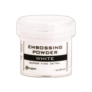 Ranger: Super Fine White - Embossing powder 1oz