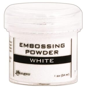 Ranger: White - Embossing powder 1oz