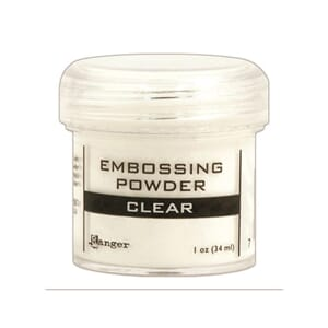 Ranger: Clear - Embossing powder 1oz