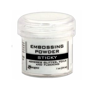 Ranger: Sticky Embossing Powder