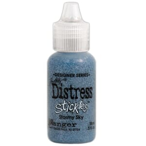 Distress Stickles Glitter Glue - Stormy Sky