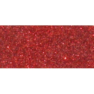 Glitterlim Metallik -  Classical Red, 20ml flaske
