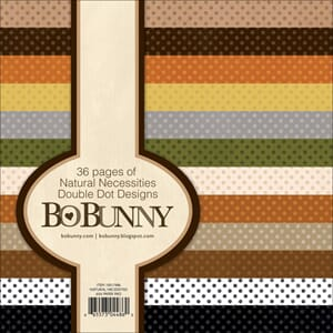 Bo Bunny: Natural Necessities - Double-Dot Paper Pad 36/Pkg