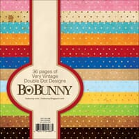 Bo Bunny: Very Vintage - Double-Dot Paper Pad 36/Sheets