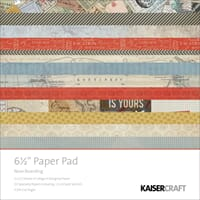 Kaisercraft: Now Boarding Paper Pad