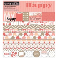 Teresa Collins: You Are My Happy Paper Pad 24/Sheets