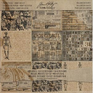Tim Holtz: Halloween Haunts, Kraft Resist - Idea-Ology