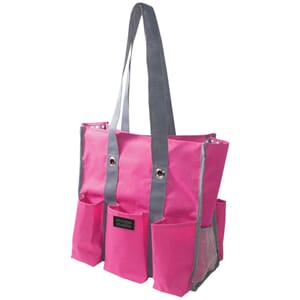 Storage Studios: Pink & Grey - Shoulder Tote