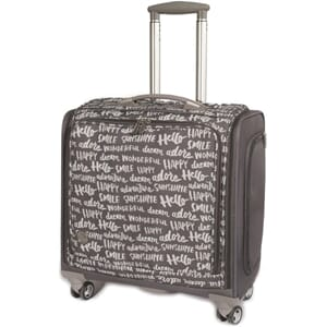 We R Me. Kep: 360 Crafter s Rolling Bag - Charcoal